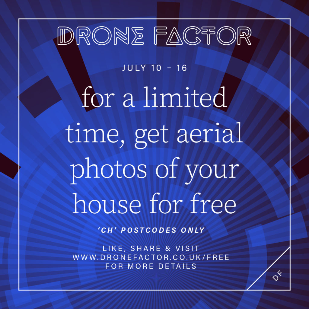 for a limited time, get aerial photos of your house for free